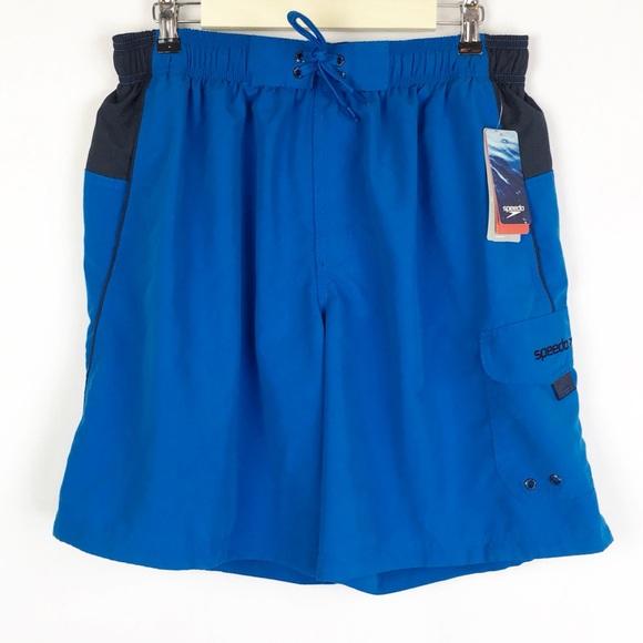 2ab631c0b9 Speedo Swim   Large Sport Volley Shorts Blue   Poshmark